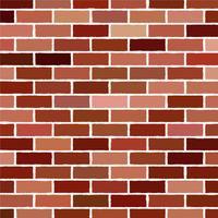 fundo da ilustração do vetor da parede de tijolo - teste padrão da textura para o replicate contínuo.