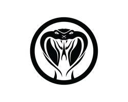 viper cobra elemento de design de logotipo. ícone de cobra de perigo. símbolo da víbora vetor