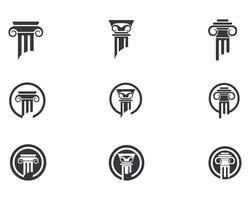 logotipo da lei vector