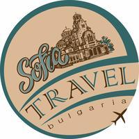 Viagem. Bulgária. Sófia. Esboço. A Catedral de Santo Alexandre Nevsky. Industria do turismo. Período de férias. Vetor.