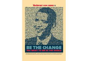 Vetor de mudança de Obama