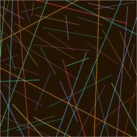Textura de linhas coloridas caóticas aleatórias em fundo preto