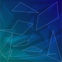 Fundo abstrato azul escuro com formas geométricas para negócios vetor