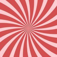 Resumo de rosa brilhante rodando fundo radial vetor