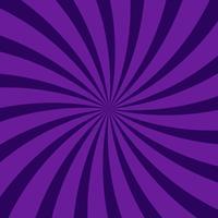 Resumo rodando fundo radial escuro padrão roxo vetor