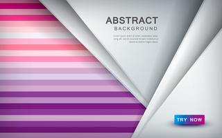 Abstrato colorido com sobreposição de camada e cor decoração de meio-tom vetor