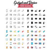 conjunto de ícones de dispositivo vector