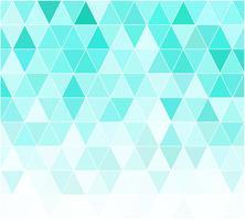 Fundo de mosaico de grade azul, modelos de Design criativo vetor