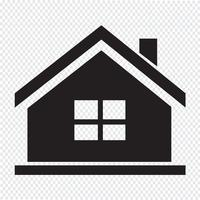 Casa, símbolo, sinal símbolo