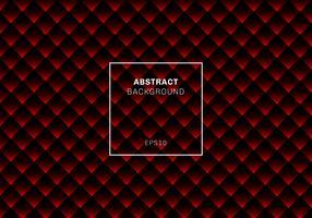 Fundo e textura geométricos abstratos vermelhos e pretos do teste padrão. Quadrados ou cores vívidas da textura sem emenda das listras do rombo. vetor