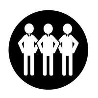 Pessoas ícone símbolo sinal