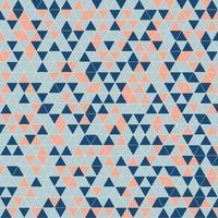 Fundo geométrico abstrato do teste padrão do triângulo.