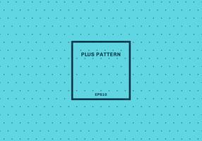 Fundo sem emenda do teste padrão transversal azul abstrato. Sinal de adição com moldura quadrada. vetor