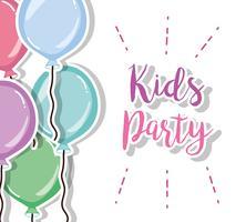 Desenho de festa de crianças vetor