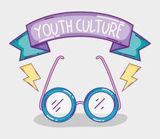 Desenhos de cultura juvenil vetor