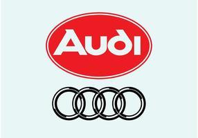 Logotipo de audi vetor