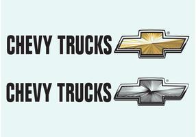 Caminhões chevrolet vetor