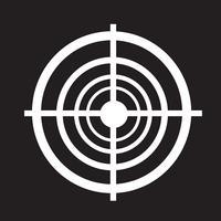 ícone de alvo sinal de símbolo