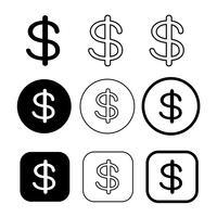 Licença e direitos autorais uso comercial ícone símbolo sinal vetor