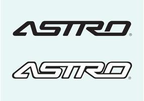 Chevrolet astro vetor