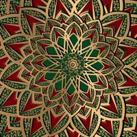 fundo de padrão de arabesco vetor