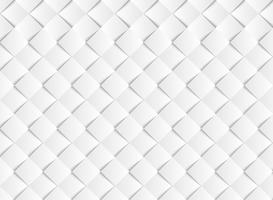 O papel quadrado do vetor branco abstrato do inclinação cortou o fundo do teste padrão. ilustração vetorial eps10