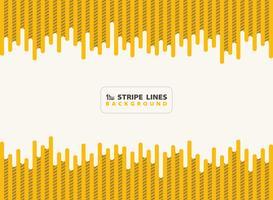 O amarelo abstrato do traço com linhas pretas da listra modela o fundo do projeto moderno. Você pode usar para anúncio, cartaz, impressão, modelo, folheto, flyer, arte-final. ilustração vetorial eps10
