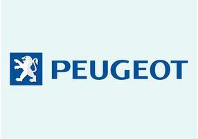 Logotipo da Peugeot vetor