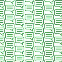 Fundo de padrão falando ícone de bate-papo de bolha