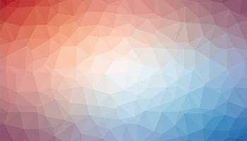 Vetor de textura de fundo triangular rosa e azul