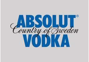 vodka absolut vetor