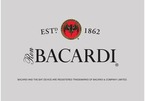 Logotipo bacardi vetor