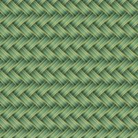 Ilustração em vetor sem costura padrão verde vime