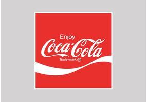 Logotipo da Coca Cola vetor