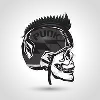 crânio da cabeça do capacete