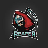 logotipo do emblema reaper