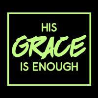 Sua graça é suficiente