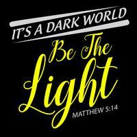 Seja a luz vetor