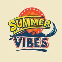 Vibes do verão. Férias de verão. Citação de verão
