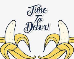 Hora de desintoxicar vetor