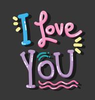 Eu te amo cartão