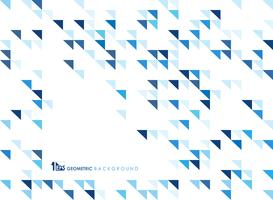 Geométrico azul simples do fundo do teste padrão da tecnologia.