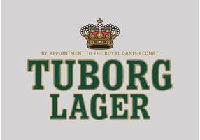 Logomarca de Tuborg Lager vetor