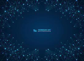 Linha digital fundo da tecnologia azul abstrata dos lasers. ilustração vetorial eps10