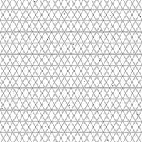 Linha preta geométrica decoração do projeto quadrado abstrato do teste padrão geométrico no fundo branco. ilustração vetorial eps10 vetor