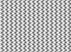 Fundo cinzento e branco do teste padrão abstrato do hexágono da decoração. ilustração vetorial eps10