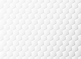 O Livro Branco abstrato do teste padrão do hexágono cortou o fundo da decoração do projeto. ilustração vetorial eps10