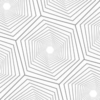 Projeto moderno do teste padrão geométrico ascendente próximo ascendente do sumário. vetor