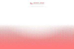 Fundo geométrico do teste padrão do quadrado coral vivo cor-de-rosa abstrato da cor. ilustração vetorial eps10