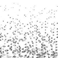 O triângulo moderno abstrato modela o fundo cinzento da decoração do projeto do moderno do tom. ilustração vetorial eps10